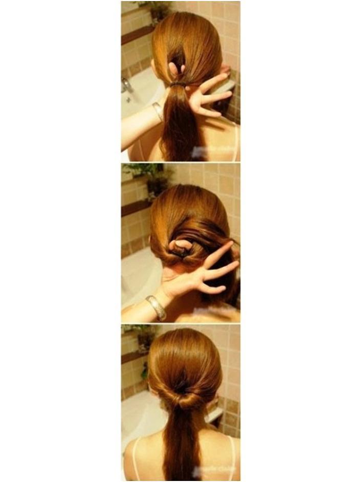 прически за 5 минут для средней длины волос